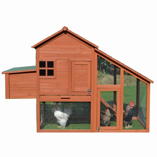 Tinnapet Chicken Coop Hen House Chook Hutch Run Cage With