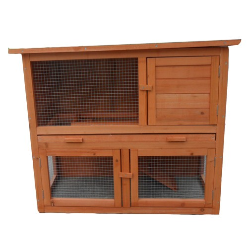 Tinnapet With Tray 94 45 79cm Two Storey Rabbit Ferret